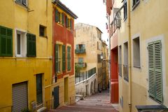 Streets of Nice Royalty Free Stock Photo