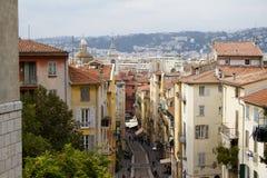 Streets of Nice Stock Photos
