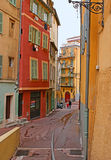 The streets of Nice Royalty Free Stock Photography