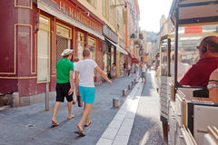Streets in Nice, France Royalty Free Stock Photos