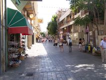 Streets of Nicosia Royalty Free Stock Photos