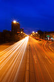 Streets of the night Stock Photography