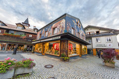 At the streets of Oberammergau Royalty Free Stock Image