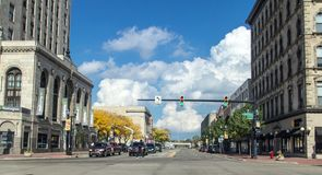 Free Streets Of Downtown Saginaw Michigan Stock Photos - 139088633