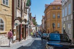 Free Streets Of Mala Strana, Prague Stock Images - 95406364