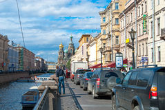 Streets Of Saint Petersburg Royalty Free Stock Images