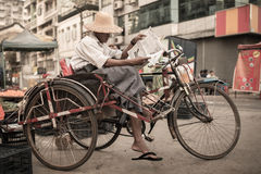 Free Streets Of Yangon Royalty Free Stock Images - 65273279