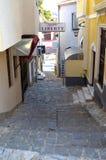 Streets of Ohrid,Macedona Stock Images