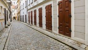 Streets of old Bratislava, Slovakia Stock Images