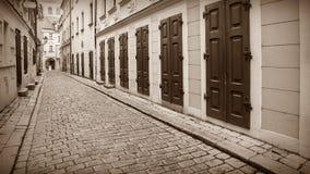 Streets of old Bratislava, Slovakia Stock Photography