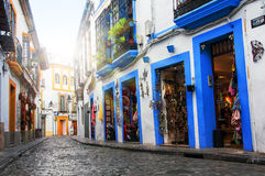 Streets of old city Cordoba Stock Photography