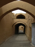 Streets of old city of Yazd, Iran Stock Image