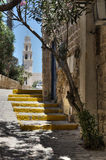 The streets of Old Jaffa Royalty Free Stock Images