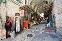 Streets in old Jerusalem Stock Photography