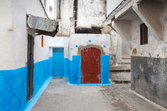 Streets of old Medina. Tanger, Morocco Stock Photos