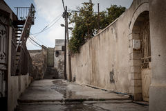 Streets of  old Nazareth Stock Images