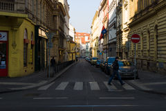 The streets of old Prague Royalty Free Stock Photo
