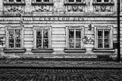 The streets of old Prague. Gift shop. Stock Images