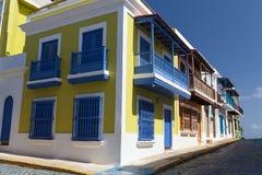 Streets of old San Juan, Puerto Rico Royalty Free Stock Photo