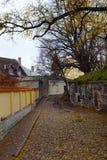 Streets of old Tallinn, Estonia, Europe Stock Photos