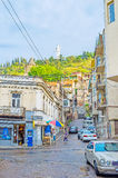 In streets of old Tbilisi Royalty Free Stock Images