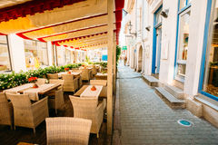 Streets And Old Town Architecture Estonian Capital, Tallinn, Est Royalty Free Stock Photography