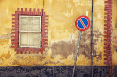 Streets of old town Faro in Algarve Stock Photography