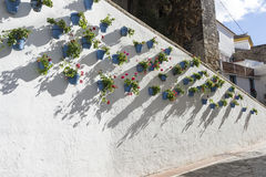 Streets of the old town of Marbella, Andalusia Stock Photography