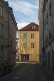 Streets of old town. Narrow street of old town Tallinn Stock Image