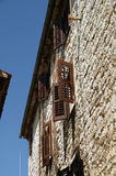Streets of the old town of Porec, Istria, Croatia Stock Photography