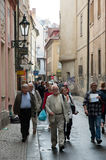 Streets of Old Town Prague Royalty Free Stock Photography