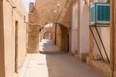 Streets of the old town of Yazd Stock Photos