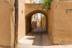 Streets of the old town of Yazd Royalty Free Stock Image