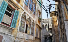 The Streets of Old Tripoli, Lebanon Stock Image