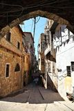 The Streets of Old Tripoli, Lebanon Stock Photography