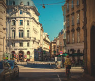Streets of old Vienna Royalty Free Stock Image