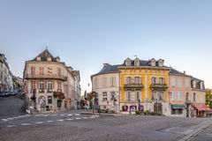 In the streets of Oloron Sainte Marie stock photography