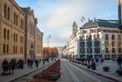 Streets of Oslo, Norway Stock Photos