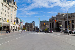 Streets in Ottawa Royalty Free Stock Photos