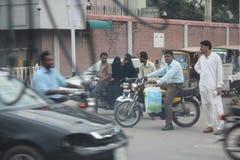 Streets of pakistan Stock Image