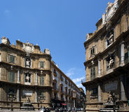 On the streets of Palermo, Sicily Royalty Free Stock Photos