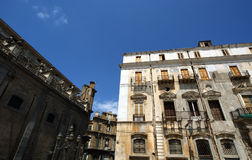 On the streets of Palermo, Sicily. Royalty Free Stock Photos