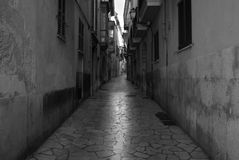 Streets of Palma de Mallorca Royalty Free Stock Image