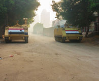 Cairo after the revolution of the Muslim Brotherhood Royalty Free Stock Photography
