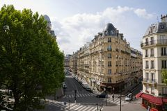 Streets of Paris Royalty Free Stock Photography