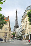 On the streets of Paris. Royalty Free Stock Photo