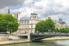On the streets of Paris. Royalty Free Stock Photography