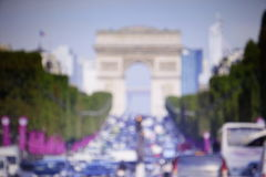 Streets of Paris Stock Photography