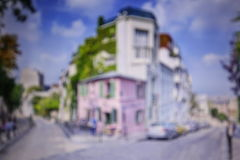 Streets of Paris Royalty Free Stock Photo