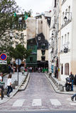 Streets of Paris Stock Images